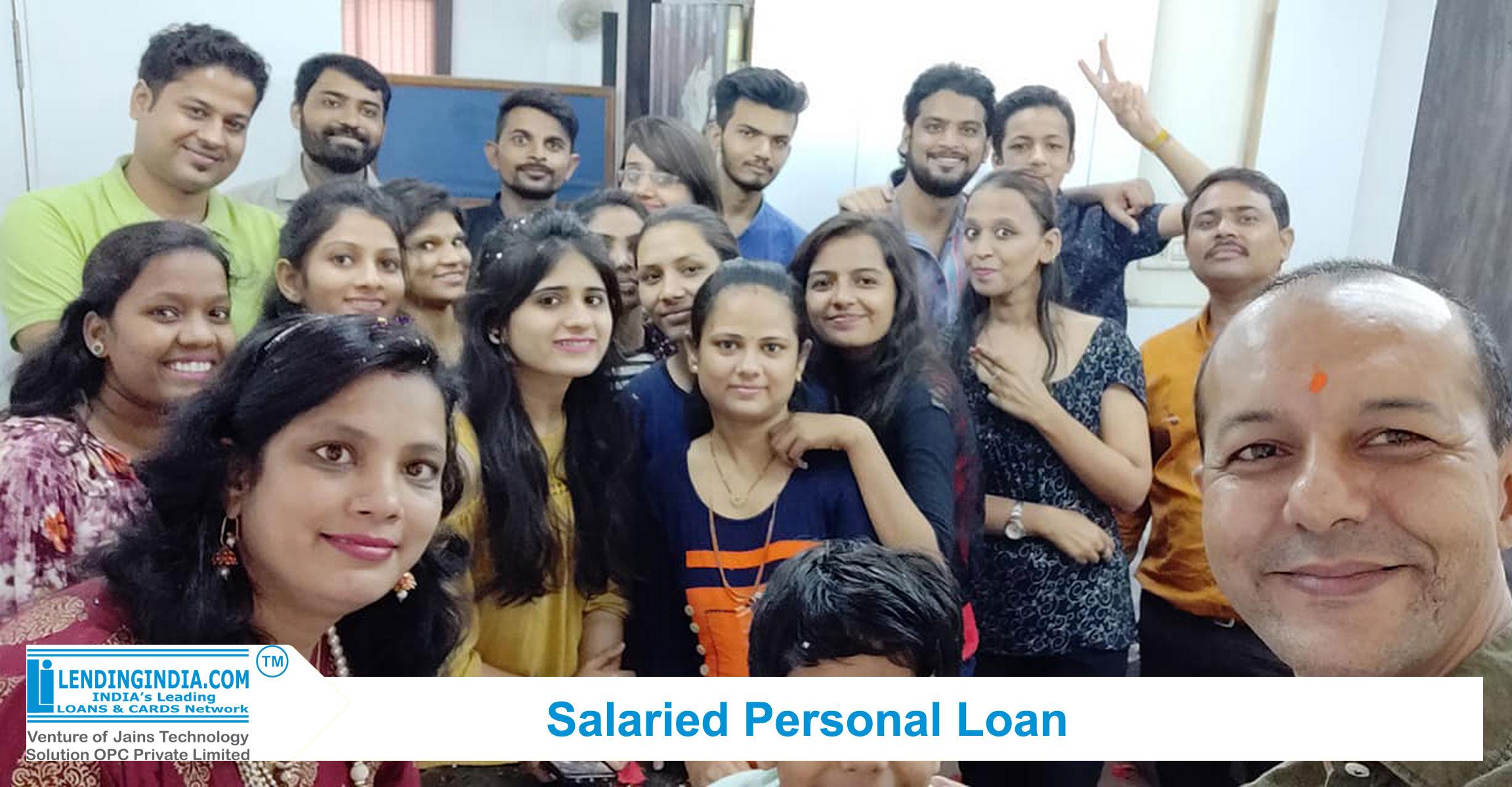 lending india salaried personal loan