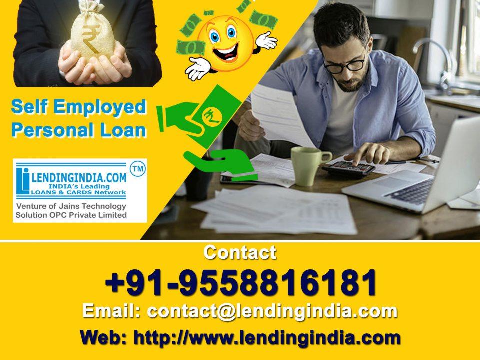 Self Employed Personal Loan